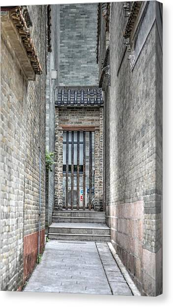 China Alley Canvas Print