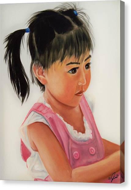 China Doll 2 Canvas Print