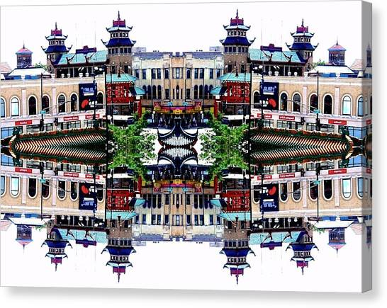 Chinatown Chicago 2 Canvas Print