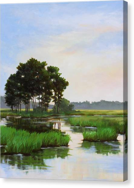 Chincoteague Marsh Canvas Print