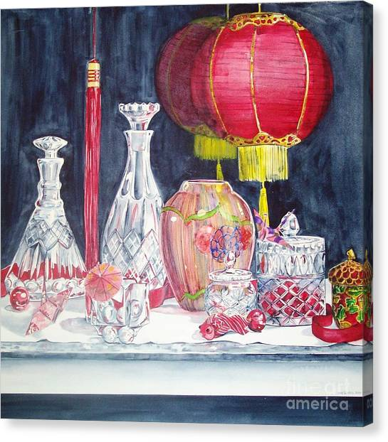 Chinese Lanterns No. 2 Canvas Print
