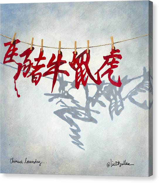 Chinese Symbols Canvas Prints Fine Art America