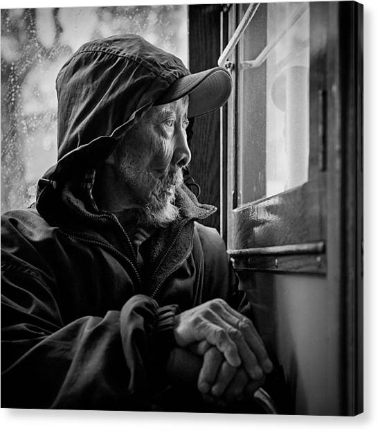 Citizen Canvas Print - Chinese Man by Dave Bowman