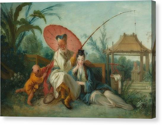 Canvas Print - Chinese Motif by Francois Boucher