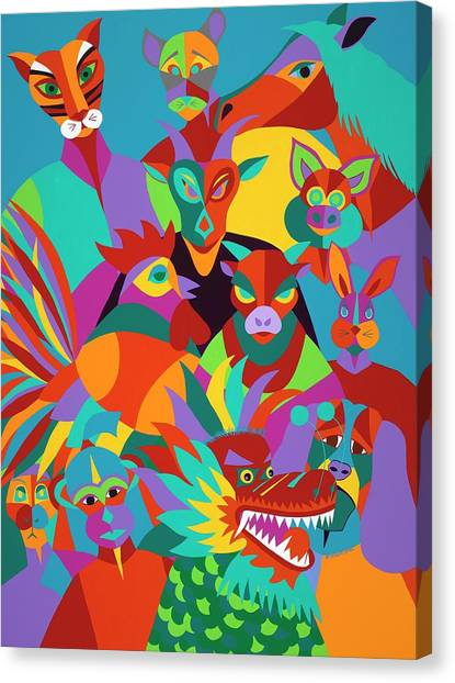 Canvas Print - Chinese New Year by Synthia SAINT JAMES