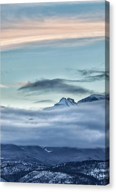 Canvas Print featuring the photograph Chipeta In View by Denise Bush