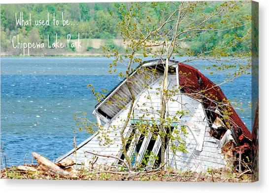 Chippewa Lake Park Now 1 Canvas Print