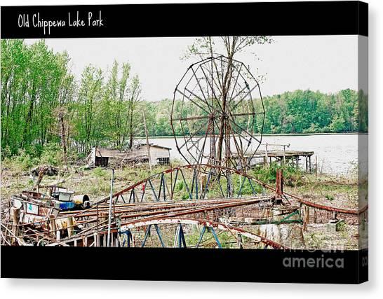 Chippewa Lake Park Now 2 Canvas Print