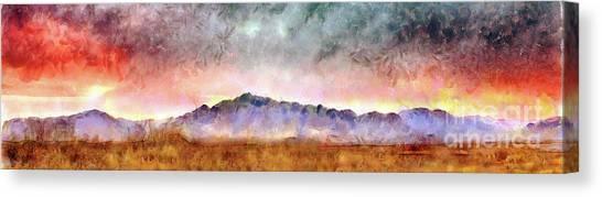Chiricahua Canvas Print by Harry Ridgway