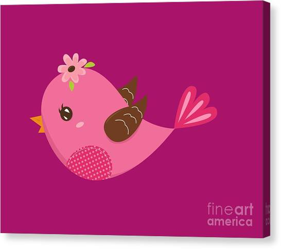 Chirp  Canvas Print
