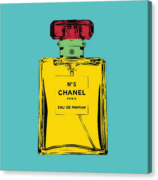 Chanel Canvas Print - Chnel 2 by Mark Ashkenazi
