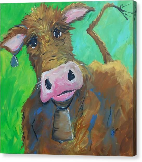 Chocolate Milk Canvas Print