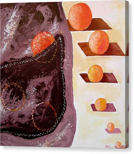 Chocolate Pocket Canvas Print by Evguenia Men