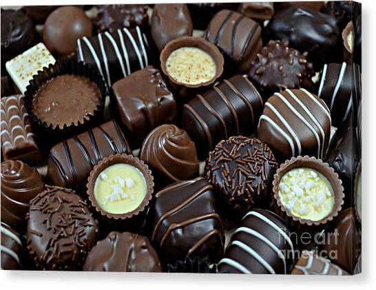 Chocolates Canvas Print