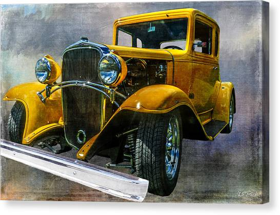 Choice Chevy Canvas Print by Tom Pickering of Photopicks Photography and Art