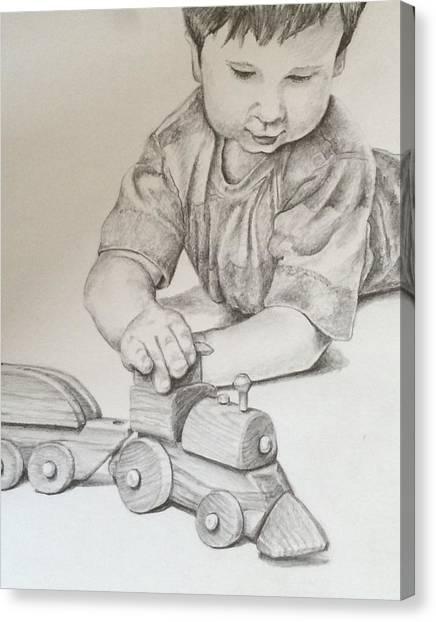 Choo Choo Canvas Print