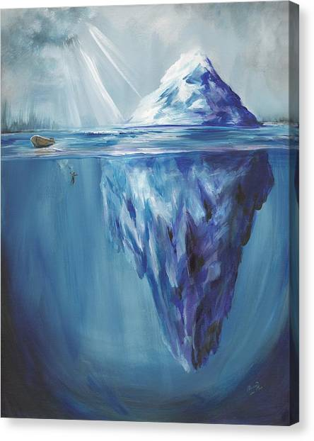 Prophetic Art Canvas Print - Choosing To See by Pennie Strople