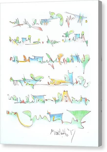 Canvas Print - Chopin Ballade No 1 In G Minor by Dave Martsolf