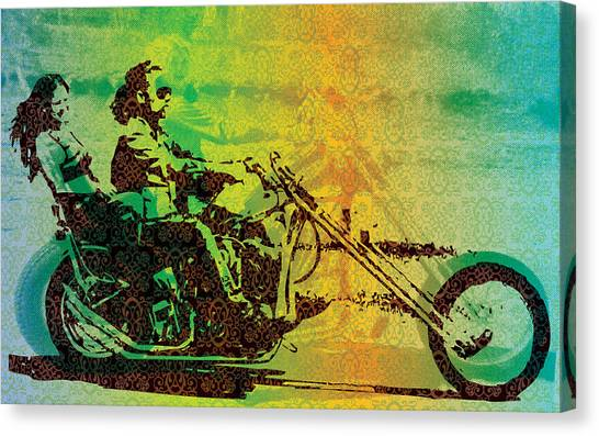 Old Age Canvas Print - Chopper by Maye Loeser