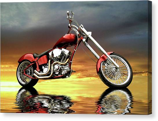 Chopper Canvas Print