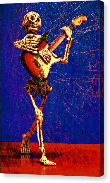 Canvas Print featuring the photograph Chops by Jeff Gettis