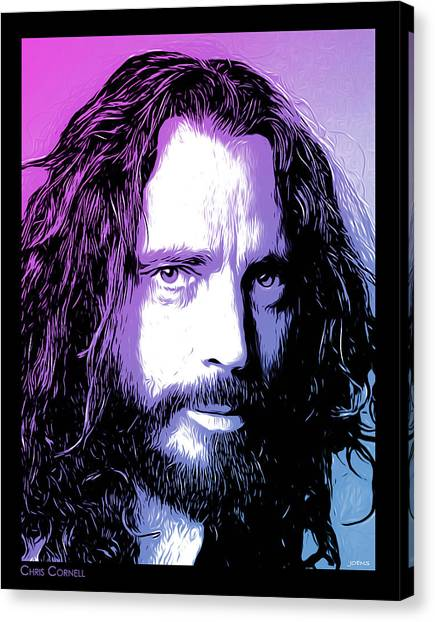 Chris Cornell Tribute Canvas Print