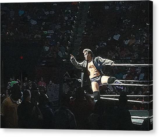 Chris Jericho Y2j Canvas Print