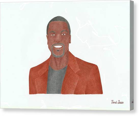 Chris Tucker Canvas Print