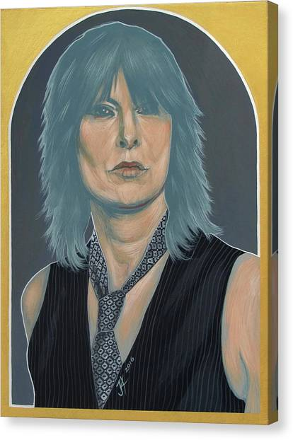Chrissie Hynde Canvas Print
