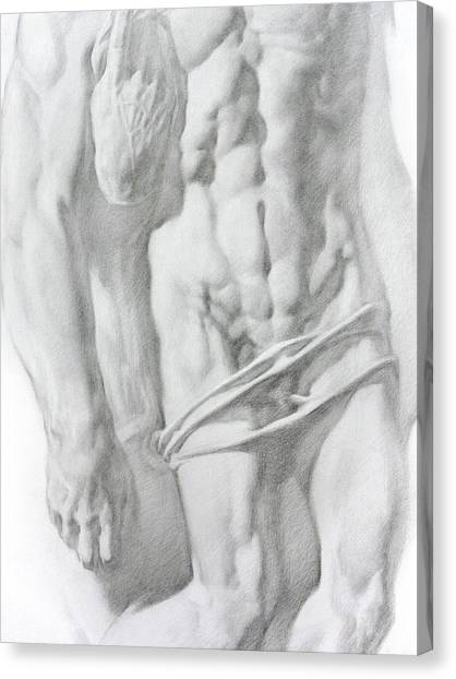 Christ 1b Canvas Print by Valeriy Mavlo
