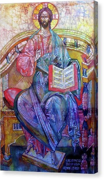 Christ In Majesty II Canvas Print by Tanya Ilyakhova
