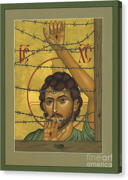 Christ Of Maryknoll - Rlcom Canvas Print