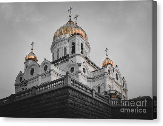Christ The Savior Cathedral Canvas Print