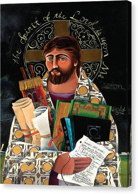 Christ The Teacher - Mmctt Canvas Print
