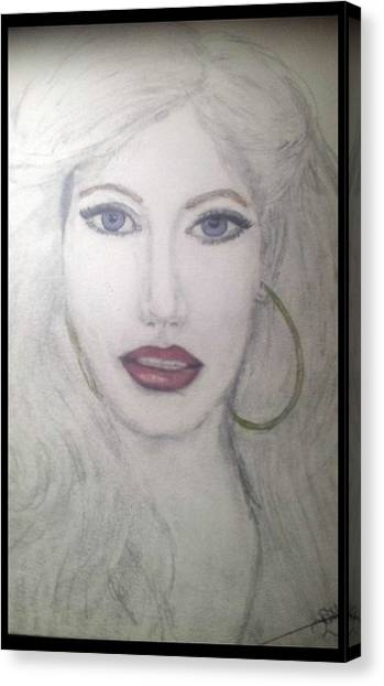 Christina Aguilera Canvas Print