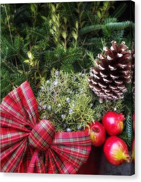Christmas Arrangement Canvas Print