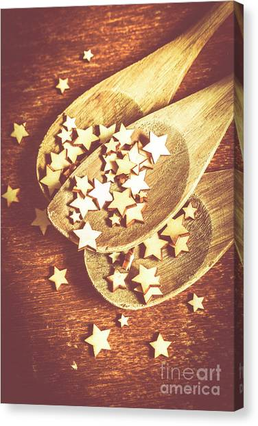 Biscuits Canvas Print - Christmas Baking Background by Jorgo Photography - Wall Art Gallery