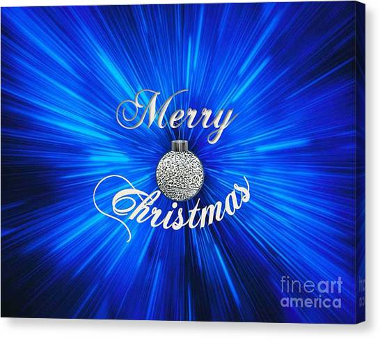 Christmas Brillance Canvas Print