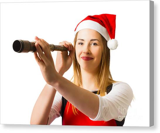 Scouting Canvas Print - Christmas Coming Soon by Jorgo Photography - Wall Art Gallery