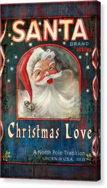 Christmas Love Canvas Print