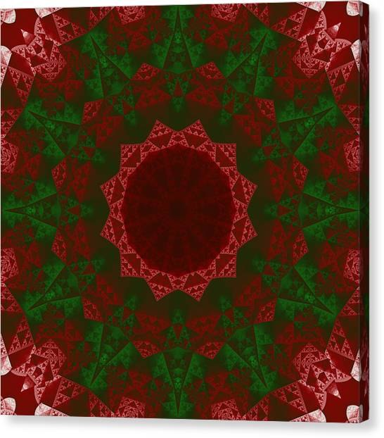 Christmas Quilt Canvas Print