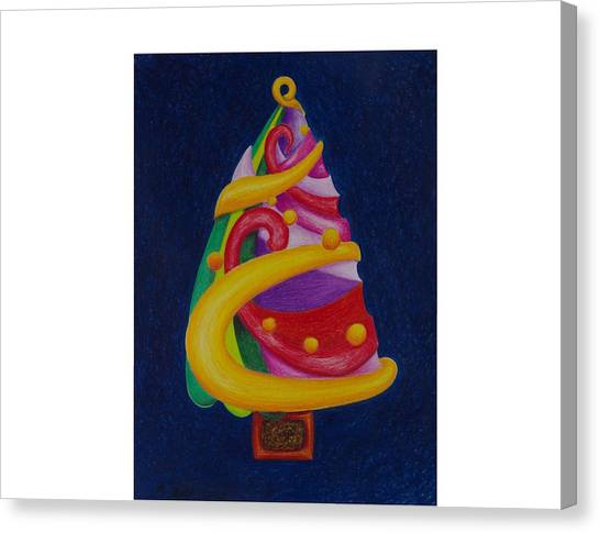 Christmas Tree No. Two Canvas Print