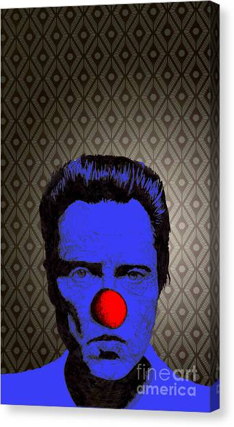 Christopher Walken 1 Canvas Print