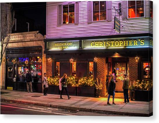 Christopher's And The Toad Cambridge Ma Porter Square Canvas Print