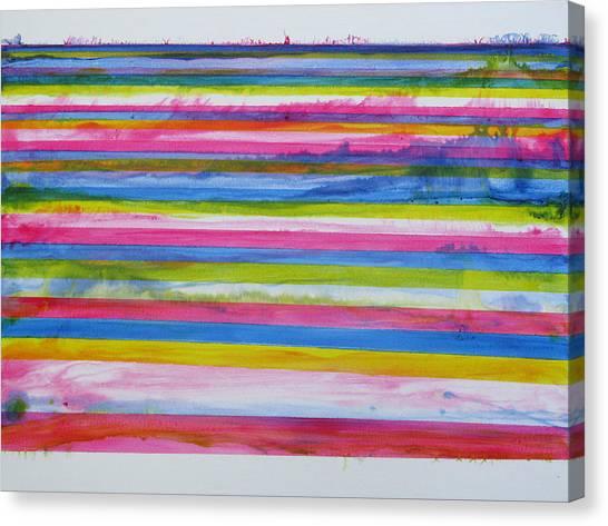 Chroma Flow Canvas Print by Tom Hefko
