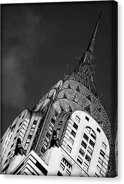 Chrysler Building's Apex Canvas Print