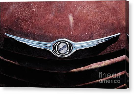 Chrysler Hood Canvas Print