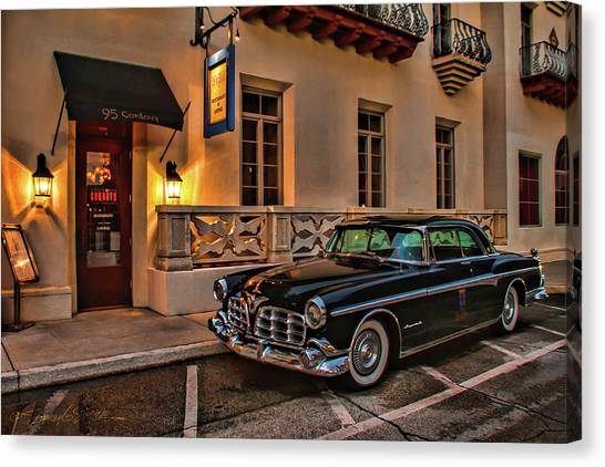 Chrysler Imperial Casa Monica Hotel Canvas Print