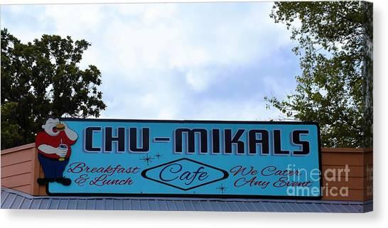 Chu - Mikals - Friendly Austin Texas Charm Canvas Print