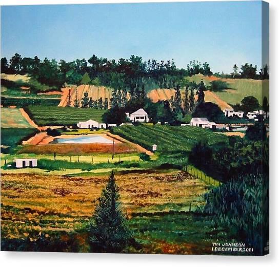 Chubby's Farm Canvas Print
